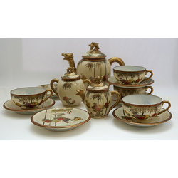 Tea set for 4 persons