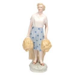 Porcelāna figūra ''Talciniece''