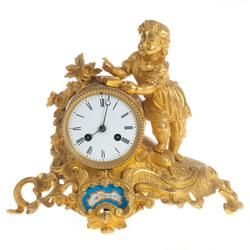 Bronzas pulkstenis