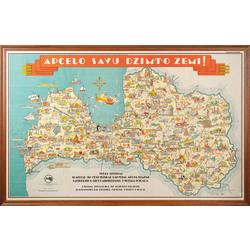 Latvijas tūrisma karte
