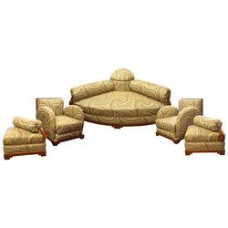 Art Deco stila mēbeļu komplekts