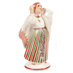 Porcelāna figūra Tautumeita