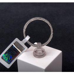 Platīna gredzens ar briljantiem