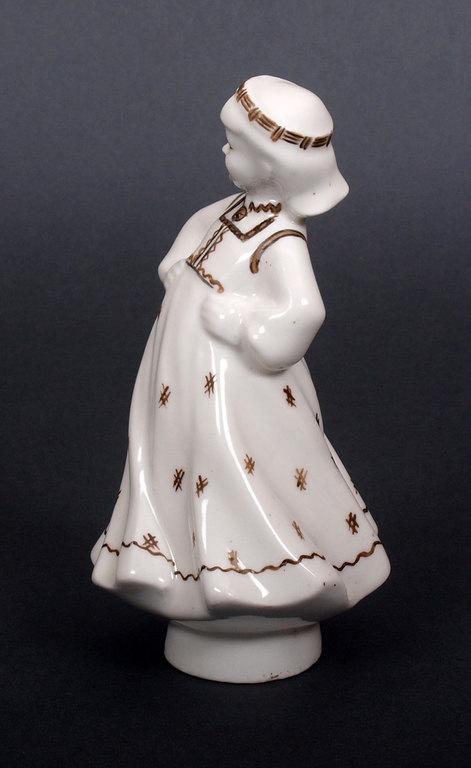 """Porcelāna figūra """"Tautu meita"""""""