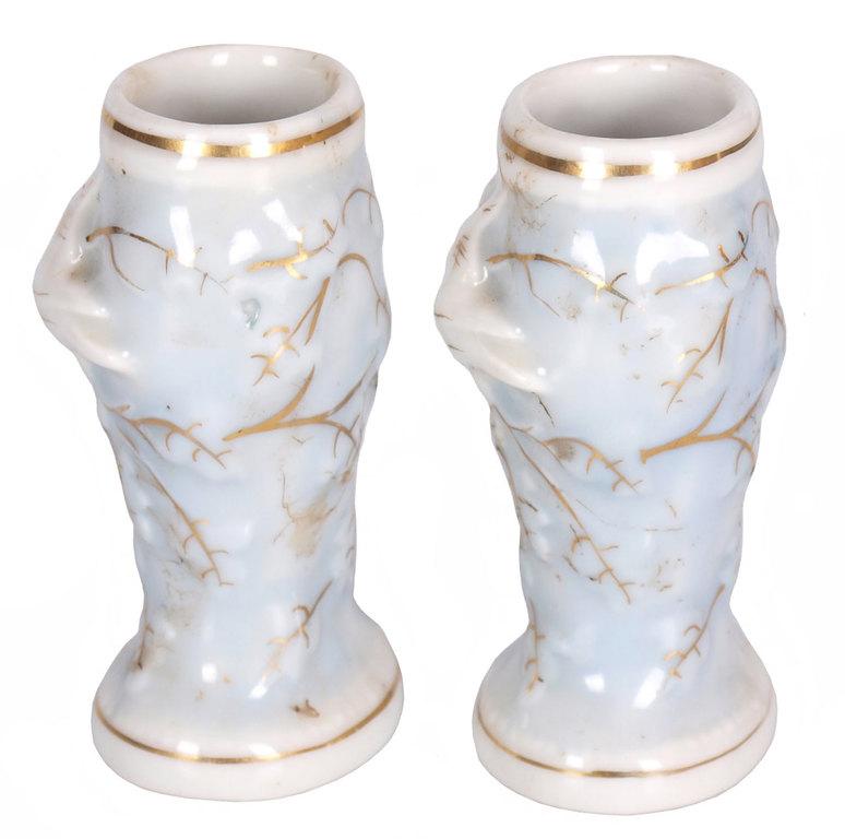 Porcelāna vāzes-pāris
