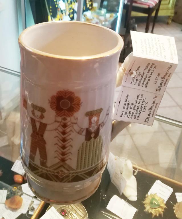 Porcelāna alus kauss
