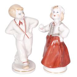 Porcelāna figūru pāris