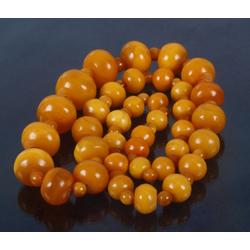 Янтарное ожерелье из 100% натурального янтарья