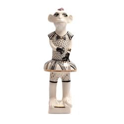 """Porcelāna figūriņa """"Pērtiķītis -meitenīte"""""""
