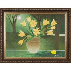 Dzeltenās tulpes
