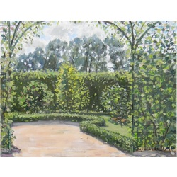 Сад Рундальского дворца