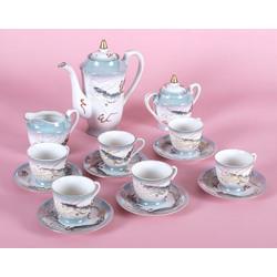 Porcelāna tējas-kafijas servīze 6 personām